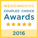 Wedding Wire - Couples choice 2016
